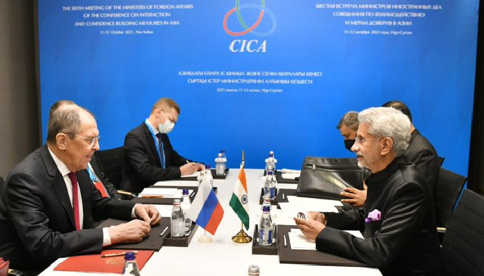 Jaishankar meets Russian FM Lavrov, exchanges notes on Afghanistan and Indo-Pacific