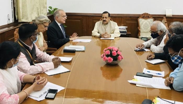 अनुसंधान और नवाचार के माध्यम से भारत-यूरोपीय संघ की रणनीतिक साझेदारी को आगे बढ़ाएं: केंद्रीय मंत्री जितेंद्र सिंह