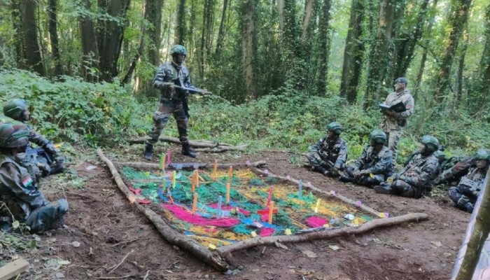 Indian Army team wins gold medal at Exercise Cambrian Patrol organized in Wales, UK
