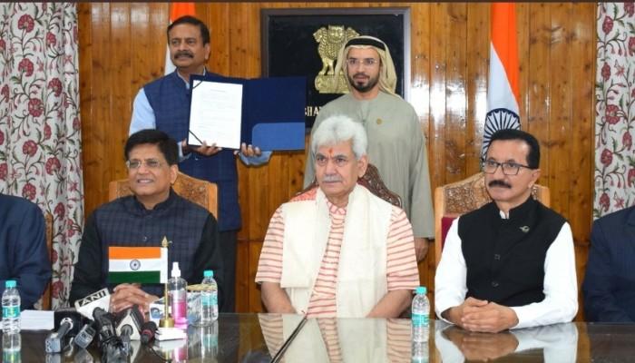 जम्मू-कश्मीर ने औद्योगीकरण, विकास को गति देने के लिए दुबई सरकार के साथ समझौता ज्ञापन पर हस्ताक्षर किए