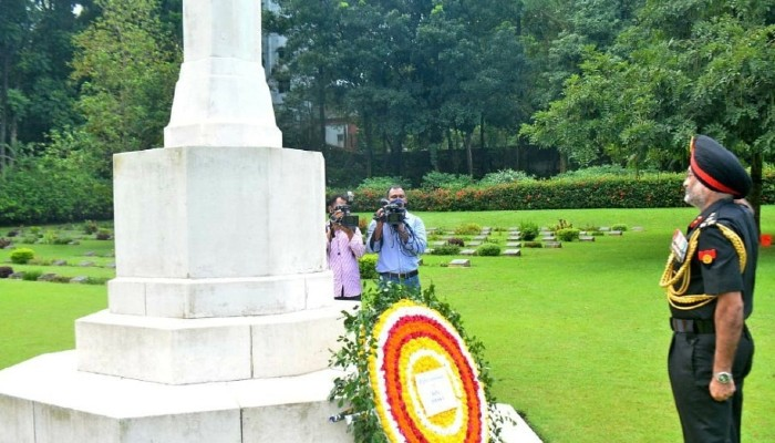Fallen Indian soldiers of World War-II remembered in Chattogram, Bangladesh