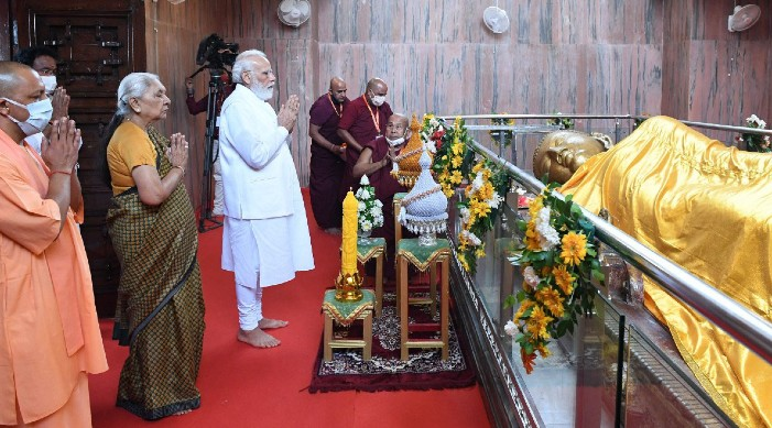 Buddha is source of inspiration for Indian Constitution: PM Modi