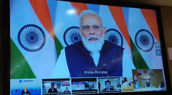 'Partner with India in oil and gas sector': PM Modi tells top global CEOs