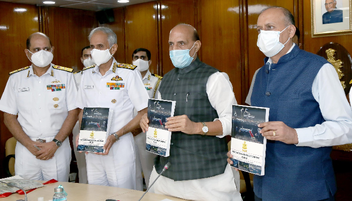 India needs strong navy for national development, proactive engagement with world: Defence Minister