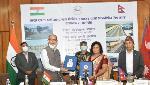 India hands over the Jaynagar-Kurtha cross-border rail section to Nepal