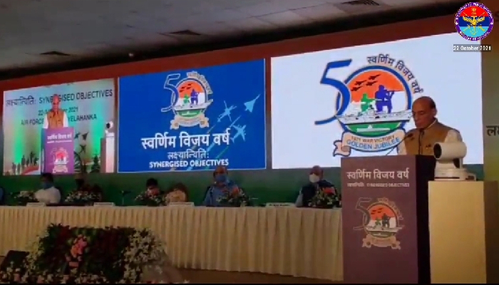 1971 War was fought to protect dignity of humanity and democracy: Rajnath Singh