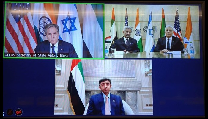 India and Israel within Quartet with US and UAE