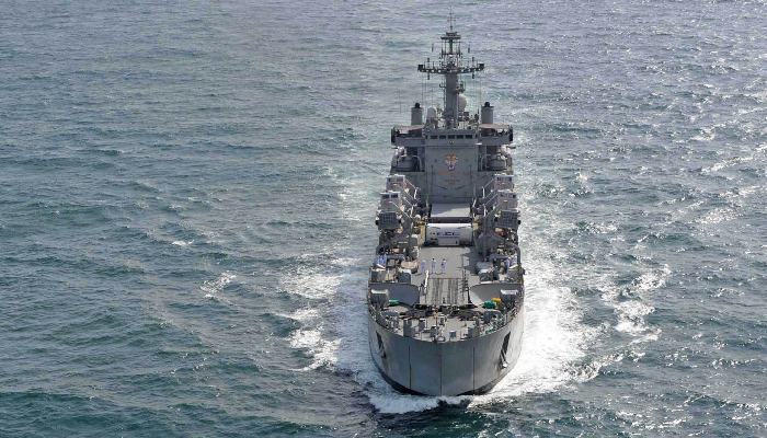 Indian Navy's training squadron embarks on four-day visit to Sri Lanka
