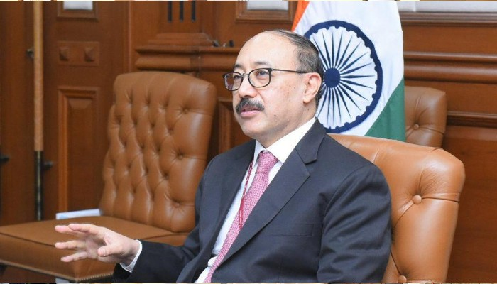Development and prosperity can be achieved only through peace and security: FS Shringla
