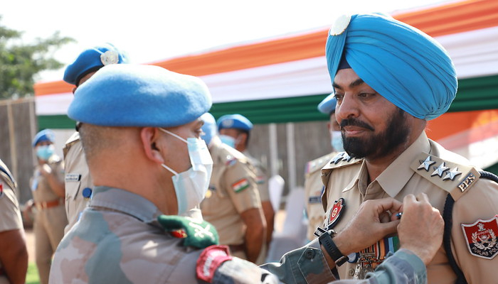 30 Indian peacekeepers receive UN medal for their service in South Sudan