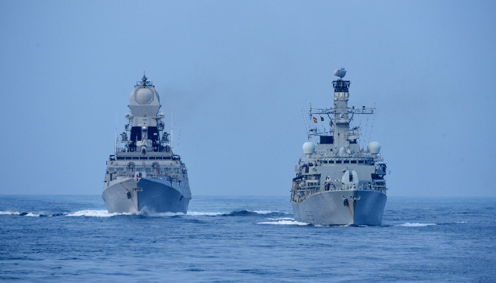 India, UK begin tri-service exercise 'Konkan Shakti 2021' in Arabian Sea