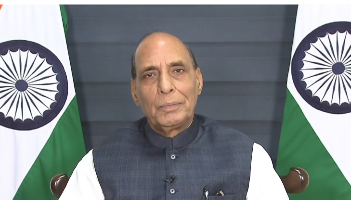 India fully determined to protect its maritime interests: Rajnath Singh