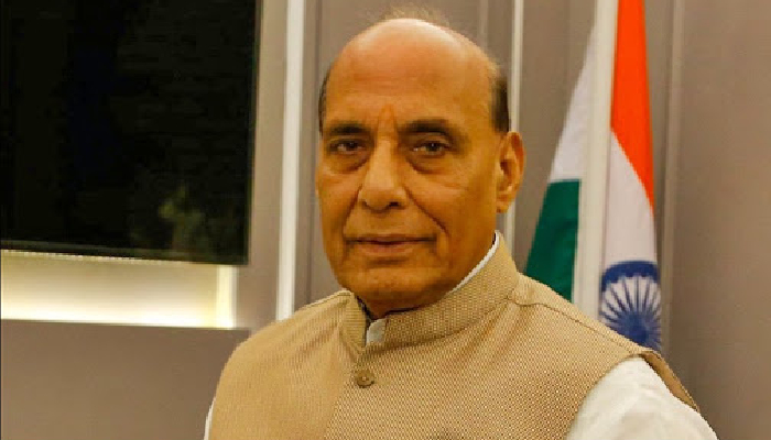 'Synergised security operations ensure conducive environment for growth and development in Jammu and Kashmir': Rajnath Singh
