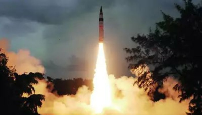 India launches N-capable Agni-5 Ballistic Missile with 5,000 km range